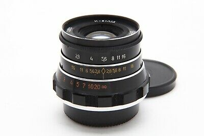 $39 • Buy Excellent Fed 55mm F2.8 Lens In M39 Leica Screw Mount #34275