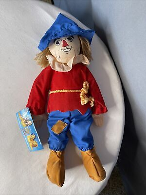 £14.54 • Buy Vintage 1989 Wizard Of Oz Live Scarecrow Plush Doll Toy 50th Anniversary NWT