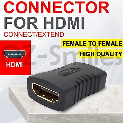 AU2.94 • Buy HDMI Female To Female Joiner Coupler Extender Connector Cable Adapter