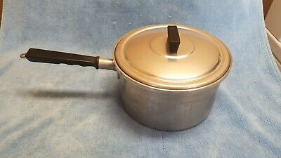 $ CDN24.28 • Buy Vintage Hawthorn Waterless Aluminum 3 Quart Pot With Lid Cookware Made In USA