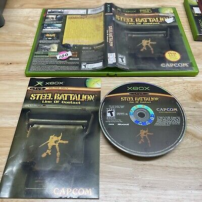 £53.02 • Buy Steel Battalion: Line Of Contact Microsoft Xbox 2004 Complete *