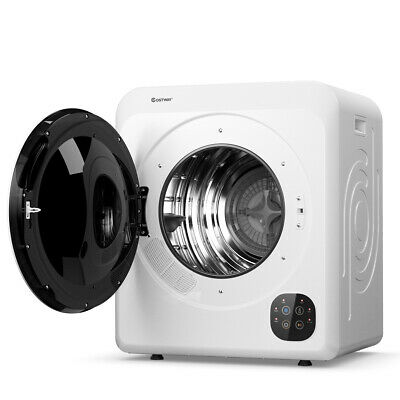 View Details 1700W Electric Tumble Laundry Dryer Stainless Tub 13.2 Lbs /3.22 Cu.Ft • 359.98$