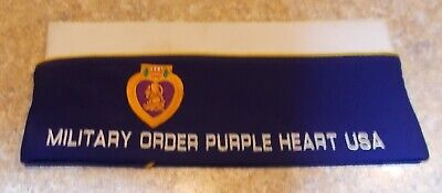 $15.15 • Buy Military Order Of The Purple Heart 'overseas' Cap/hat. Size 7 1/2