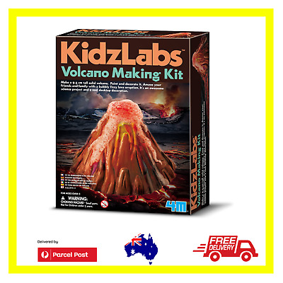 AU27.99 • Buy 4M Volcano Making Kit STEM Holiday Craft Science Experiment