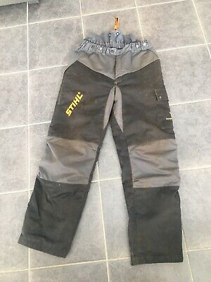 £10 • Buy Stihl Chainsaw Trousers Size 52 Class1