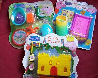 £2.50 • Buy Peppa Pig Party Pack Game/ Pass The Parcel Prizes: 3x Varied Toy Sets