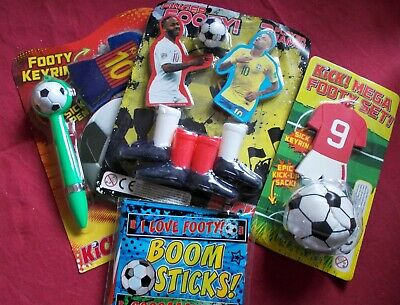 £2.50 • Buy Football Party Pack Game/pass The Parcel Prizes: 4x Varied Toy & Stationery Sets