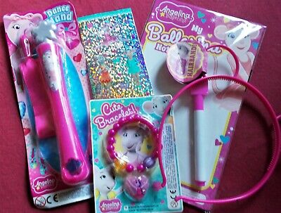 £2.50 • Buy Angelina Ballerina Party Pack Game/pass The Parcel Prizes: 5x Sets