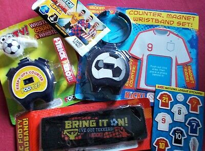 £2.50 • Buy Football Party Pack Game/pass The Parcel Prizes: 5x Varied Toy & Stationery Sets