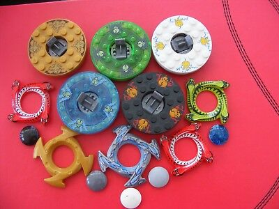 £12.75 • Buy Lego Ninjago Spinners Spinner & Crown 15 Parts 5 Sets  REF199