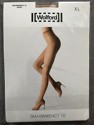 £13.99 • Buy Wolford Transparency 10 Tights, XL, Cosmetic BNIP Great For Summer