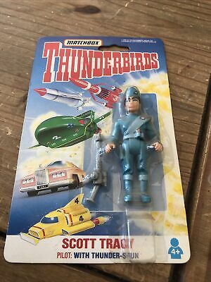 £20 • Buy Matchbox Thunderbirds Alan Tracy Carded Action Figure Made In 1993 Vivid