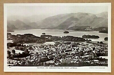 £1.19 • Buy Old Postcard Keswick Derwentwater From Latrigg RP Unposted Chadwick Studio Card