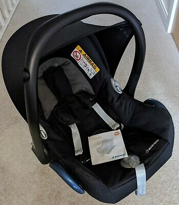 £9.99 • Buy Maxi Cosi Cabriofix Car Seat And ISOfix Base With Rain Cover.