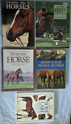 £22.69 • Buy Horse Keeping & Riding - 5 Books - Understanding, Care Of, Riding Your Horse