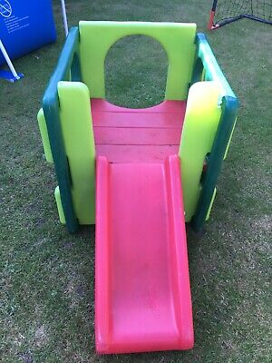 £40 • Buy Little Tikes Multi Coloured Cube Climbing Frame And Slide
