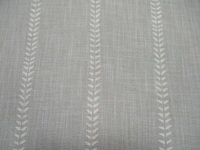 £65.99 • Buy Andrew Martin Curtain Fabric  NILE - STONE  3 METRES (300cm) Linen Blend