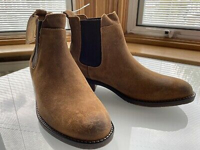 £19.99 • Buy Fat Face Newham Suede Brown Chelsea Boots, Size UK 4 New