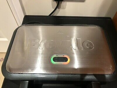 £10 • Buy Breville VST041 Deep Fill Sandwich Toaster, Non Stick, Stainless Steel, Used