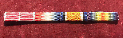 £5.99 • Buy WW1 British Medal Ribbons MBE, 1914-1914 Star, War & Victory Army Military
