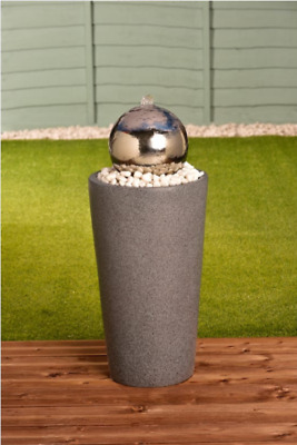£138.95 • Buy Stainless Steel Glazing Ball Water Feature
