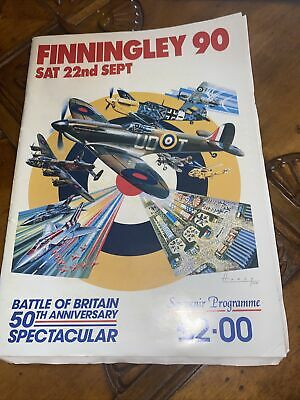 £8 • Buy Finningley 90 - 1990 Airshow Programme - Battle Of Britain 50th Anniversary Spec