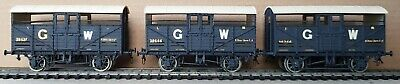 £18 • Buy 3 X G.W.R. Cattle Wagons, With Extra Detailing Based On Coopercraft Kit No.1010.