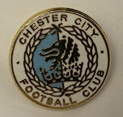 £3.99 • Buy Chester City  FC Enamel Rare Vintage 80s Collectable Football Club Pin Badge