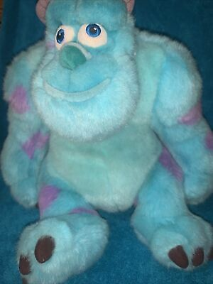 £9.49 • Buy Disney Store Monsters Inc Sully Plush Large Soft Toy Teddy Sulley 15 In