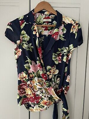 £2.99 • Buy Guess Ladies Floral Blouse Small UK 10