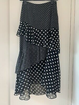 £1 • Buy Marks And Spencer Polka Dot Summer Skirt. Size 8. Great Condition.