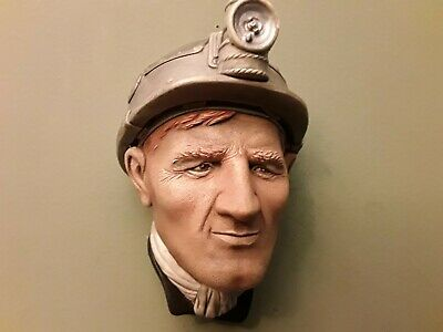 £25 • Buy Bossons Chalkware Heads THE MINER