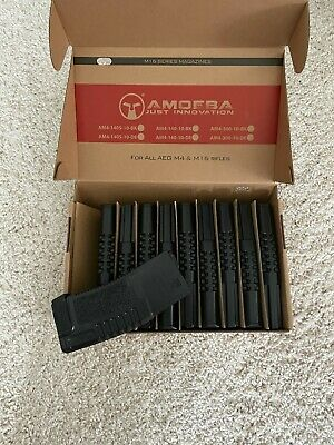 $125 • Buy ARES Amoeba 140rd Mid-Cap Magazine For M4/M16 Series Airsoft AEG 10 Piece