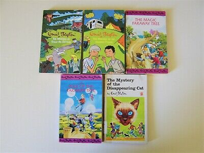 £4.99 • Buy 5x ENID BLYTON Mystery Books The Faraway Tree Disappearing Cat