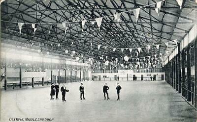 £10 • Buy Printed Postcard Of Olympia Roller Skating Rink, Middlesbrough, North Yorkshire