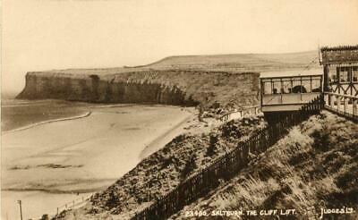 £6.50 • Buy Printed Postcard Of The Cliff Lift, Saltburn, (near Redcar), North Yorkshire