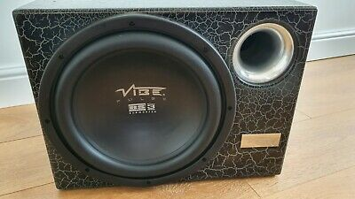 £40 • Buy Vibe Pulse 12  Passive Subwoofer In Enclosure