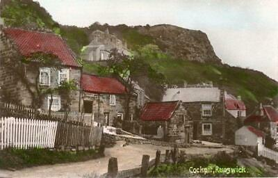 £10 • Buy Real Photo Postcard The Cockpit, Runswick Bay, (near Staithes), North Yorkshire