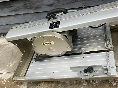 £130 • Buy Tile-It TC180iii Electric Wet Tile Saw Water Cutter - 400mm - 240v