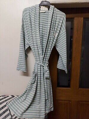 £18.99 • Buy M&S Ladies Hooded Dressing Gown SuperSoft Jersey 360 Degree Stretch Size L BNWT