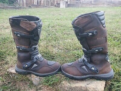 £40 • Buy Forma Adventure Brown Waterproof Atv Quad Trail Riding Motorcycle Boots Forc29w