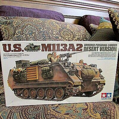 $42 • Buy 1/35 Tamiya US M113A2 Armored Personnel Carrier Desert Version # 265 NEW SEALED