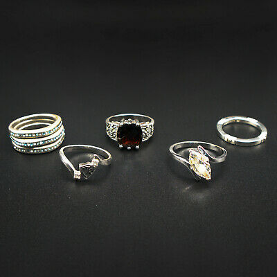 $ CDN12.17 • Buy LOT 7 Vintage & Modern RINGS With & Without Stones