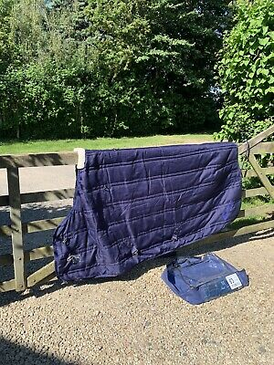 £30 • Buy Stable Rug, Mark Todd Lightweight 6'3  Navy/Royal Blue, Used 1/2 A Season Only.