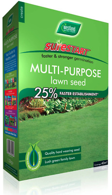 £8.98 • Buy Westland SureStart Lawn Grass Seed +33% Extra Free Covers 40 Sq.m 1.2Kg