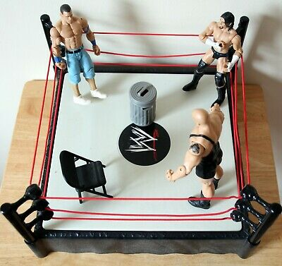 £36 • Buy WWE Raw Ring With Figures