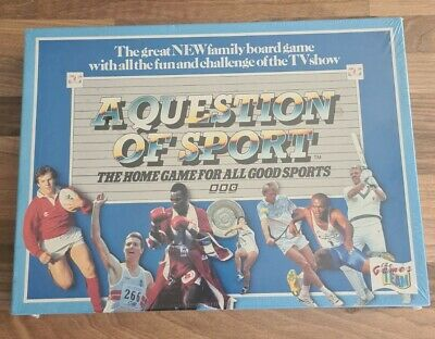 £34.99 • Buy A Question Of Sport BBC Vintage Board Game 1986  Sports Nostalgia Game Brand New