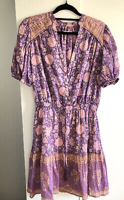 AU165 • Buy SPELL & THE GYPSY COLLECTIVE Purple Love Story Playdress Sz S