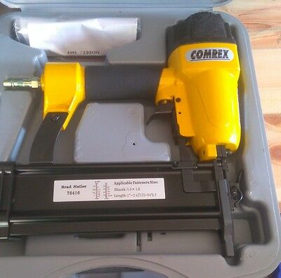 £450 • Buy 10 XCOMREX FINISHING BRAD  AIR NAILER,NEW WITH CARRY CASE, UP TO 64mm Brads L@@k