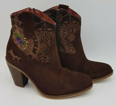 £22.99 • Buy Desigual Women Brown Boots Size36